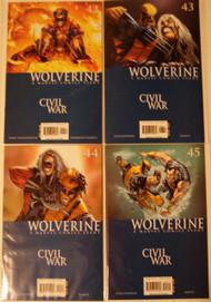 Wolverine 2003 36, 38, 39, 40, 42, 43, 44, 45 Uncanny X-Men