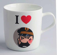 Tintin I Love Haddock Mug -- DEC132134