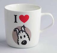 Tintin I Love Snowy Mug -- DEC132135