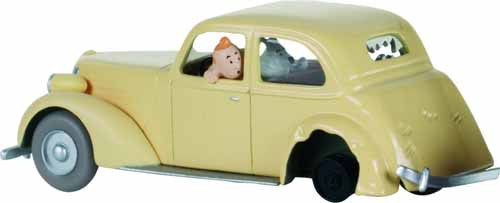 Tintin Transports Crashed Car -- DEC132137