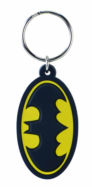 Batman Symbol Laser Cut PVC Keyring -- Dark Knight -- DEC132176