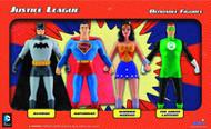 Justice League Bendable Figure Box Set -- Batman Superman -- DEC132177