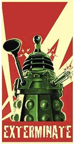 Doctor Who Dalek Towel -- DEC132188