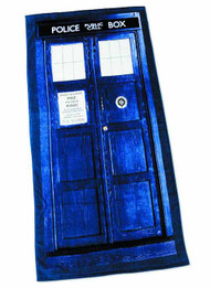 Doctor Who Tardis Towel -- DEC132189