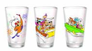 Toon Tumblers Flintstones Pint Glass -- DEC132198