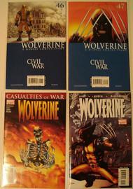 Wolverine 2003 46, 47, 48, 50, 51, 52, 53, 56, 57 Uncanny X-Men -- COMIC00000093-001