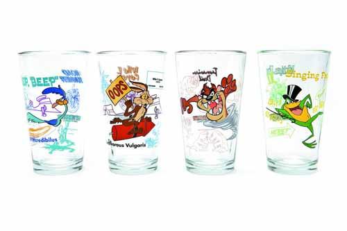 Toon Tumblers Michigan J Frog Pint Glass -- DEC132213