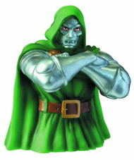 Doctor Doom Bust Bank -- Marvel Comics -- DEC132218