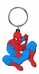 Spider-Man Character Soft Touch PVC Keyring --Marvel Comics -- DEC132220