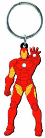 Iron Man Character Soft Touch PVC Keyring --Avengers Marvel -- DEC132221