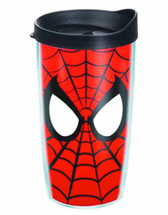 Tervis Spider-Man Mask Wrap with lid 10oz Tumbler -- DEC132223