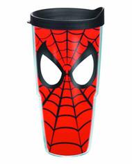 Tervis Spider-Man Mask Wrap with lid 24oz Tumbler -- DEC132226