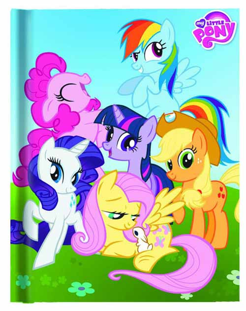 My Little Pony Hardcover Journal -- DEC132268