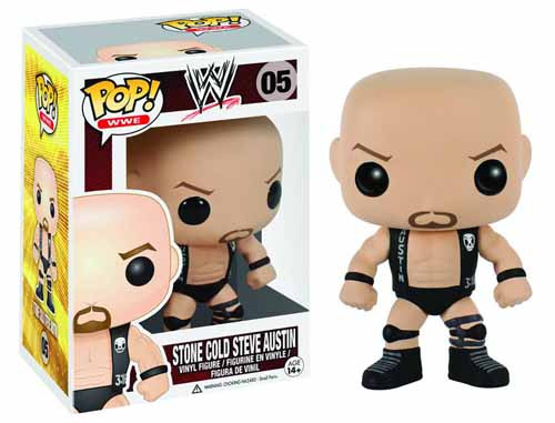 Pop WWE Steve Austin Vinyl Figure -- DEC132301