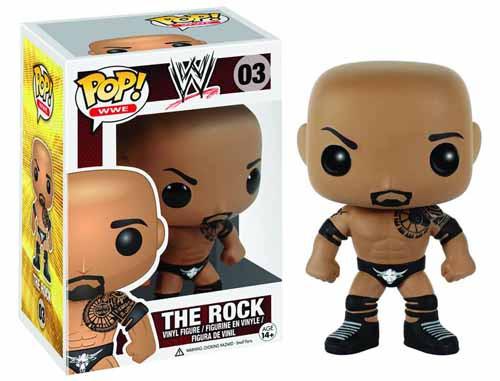 Pop WWE The Rock Vinyl Figure -- DEC132302