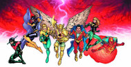 DC Deck Building Game Heroes Unite Playmat -- DEC132312