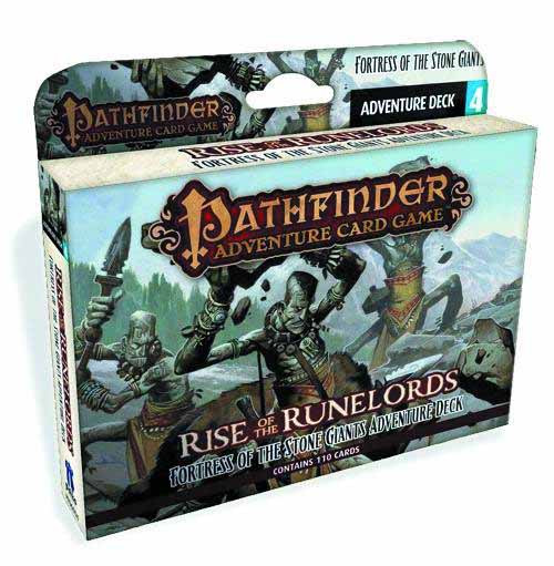 Pathfinder Adv Card Game Fortress of Stone Giants Adv Deck -- DEC132322