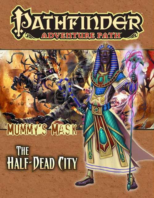 Pathfinder Adv Path Mummys Mask Pt 1 Half Dead City -- DEC132323