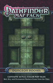 Pathfinder Map Pack Dungeon Rooms -- DEC132326