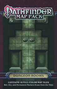 Pathfinder Map Pack Dungeon Rooms -- DEC132326