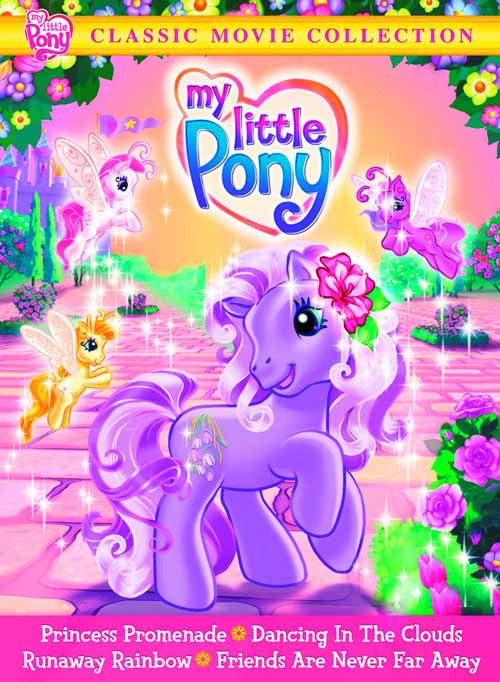 My Little Pony Classic Movie Collection DVD -- DEC132348