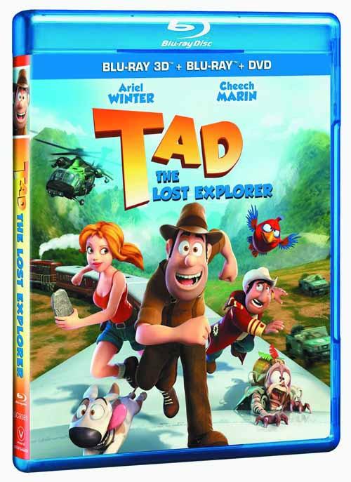 Tad The Lost Explorer BD + DVD -- DEC132351