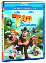 Tad The Lost Explorer DVD -- DEC132352