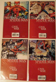Amazing Spider-Man 533, 536, 537-540 Friendly 18-20 Sensational 35-36 -- COMIC00000107