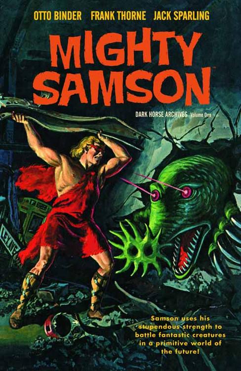Mighty Samson Archives HC Vol 01 -- FEB120115