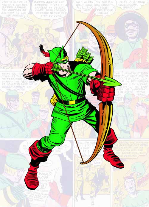 Jack Kirby Omnibus HC Vol 01 Starring Green Arrow -- FEB120271