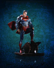 Superman Patina Mini Statue - Jim Lee DC Comics DCU -- FEB120309