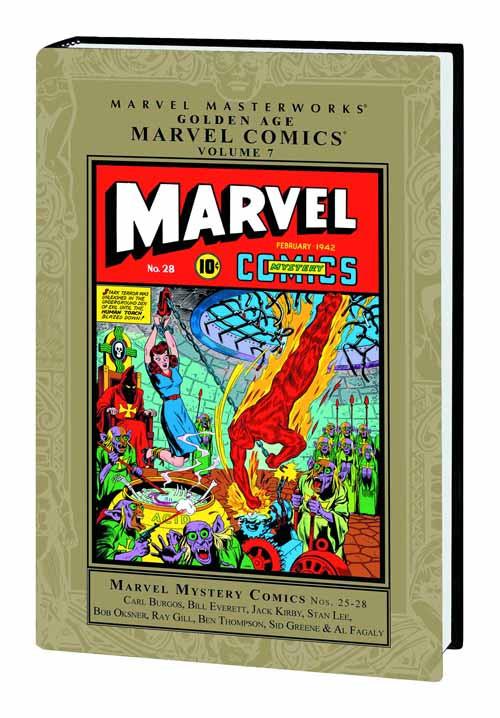 Marvel Masterworks MMW Golden Age Marvel Comics HC Vol 07 -- FEB120654