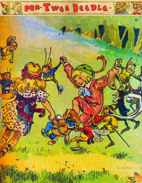 Mr Twee Deedle Raggedy Ann Cousin Gruelle HC -- FEB121041