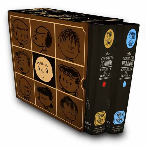 Complete Peanuts 1950-1954 Boxed Set New Printing -- FEB121048