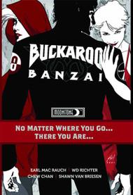 Buckaroo Banzai No Matter Where You Go HC -- FEB121094