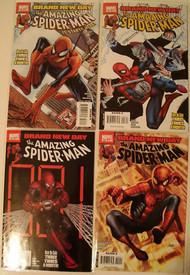 Amazing Spider-Man 546, 547, 548, 549, 550, 551, 552, 553, 554 Bnd -- COMIC00000114