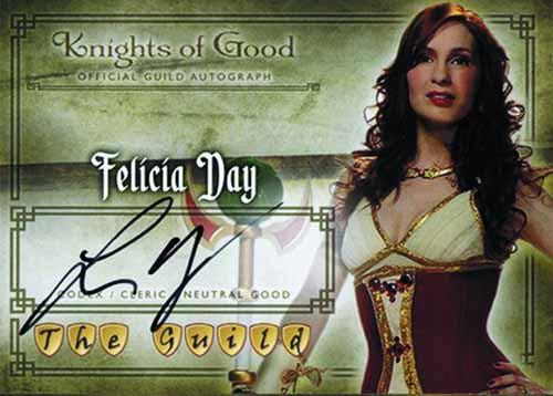 Guild Seasons 1 2 3 Trading Card Box - Felicia Day -- FEB121330