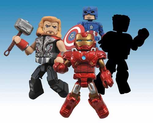 Marvel Minimates Series 45 Assortment - Diamond Select -- FEB121515
