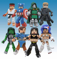 Marvel vs Capcom Minimates Series 3 Assortment -- FEB121516
