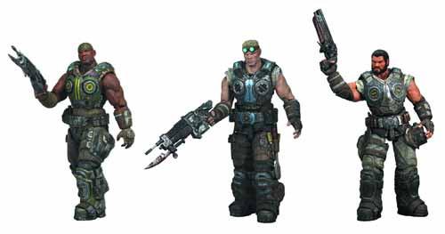 Gears Of War 3 Series 2 Action Figure Assortment -- FEB121586
