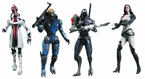 Mass Effect 3 Series 2 Action Figure Assortment Bioware -- FEB121588