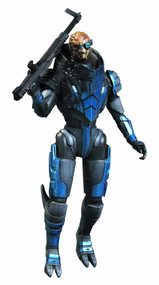 Mass Effect 3 Series 2 Garrus Action Figure Solid Case -- FEB121589