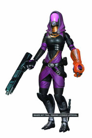 Mass Effect 3 Series 1 Tali Action Figure Solid Case -- FEB121597
