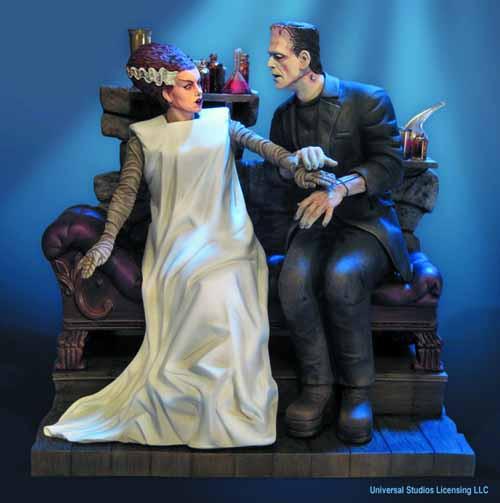 Bride Of Frankenstein Model Kit -- FEB121598
