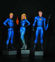 Fantastic Four Statue 3-Pack Bowen Designs -- FEB121609