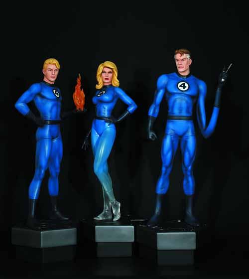 Fantastic Four Statue 3-Pack Bowen Designs -- FEB121609