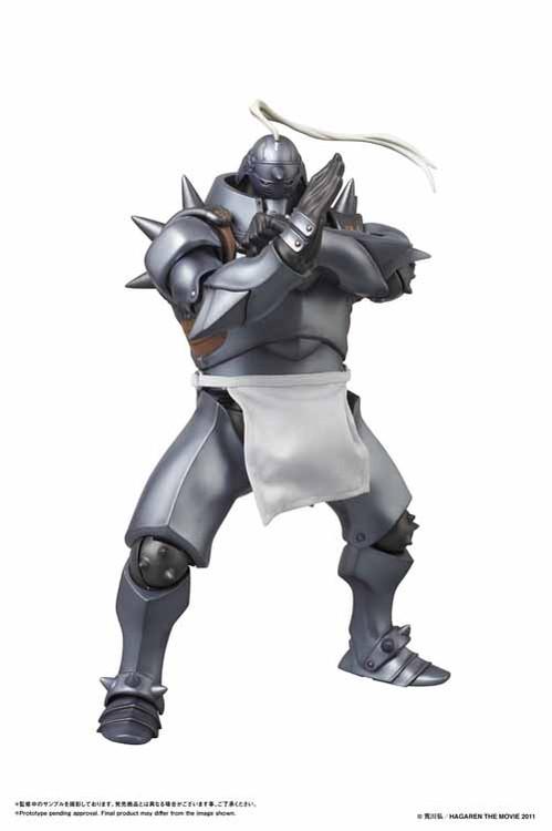 Fullmetal Alchemist FMA Alphonse Elric Real Action Hero RAH -- FEB121634