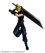 Dissidia Final Fantasy Play Arts Kai Cloud Action Figure -- FEB121651