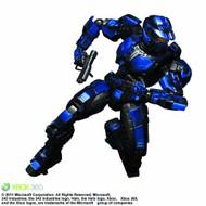 Halo Play Arts Kai Blue Spartan Action Figure Square Enix -- FEB121656