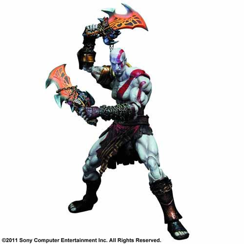 God Of War III Play Arts Kai Kratos Action Figure -- FEB121677